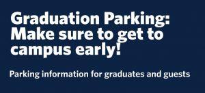Graduation Parking 2018